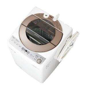 【無料長期保証】シャープ ES-GV10C-T 全自動洗濯機 (洗濯10.0kg) ブラウン系|yamada-denki