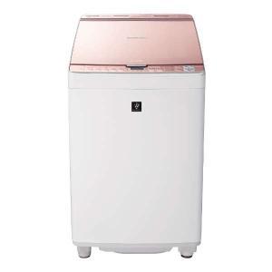 【無料長期保証】シャープ ES-PX8C-P 縦型洗濯乾燥機 (洗濯8.0kg/乾燥4.5kg) ピンク|yamada-denki
