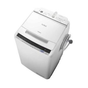 【無料長期保証】日立 BW-V80C-W ビートウォッシュ 全自動洗濯機 (洗濯8.0kg) ホワイト|yamada-denki