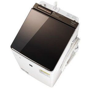 【無料長期保証】シャープ ES-PU10C-T 縦型洗濯乾燥機 (洗濯10.0kg/乾燥5.0kg) ブラウン系|yamada-denki