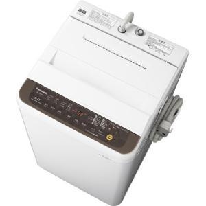 パナソニック NA-F60PB12-T 全自動洗濯機 6kg バスポンプ内蔵 ブラウン|yamada-denki