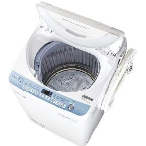 シャープ ES-T711-W 全自動洗濯機 (洗濯7.0kg) ホワイト|yamada-denki