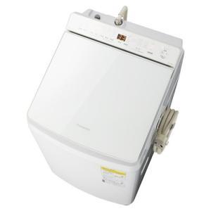 【無料長期保証】パナソニック NA-FW80K7-W 縦型洗濯乾燥機 洗濯8kg 乾燥4.5kg 泡洗浄 ホワイト|yamada-denki