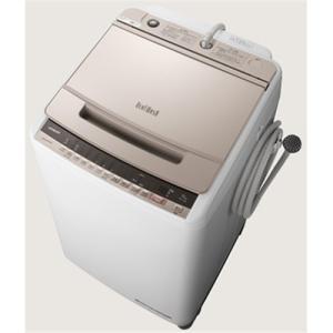 【無料長期保証】日立 BW-V100E N 全自動洗濯機 (洗濯10.0kg) シャンパン