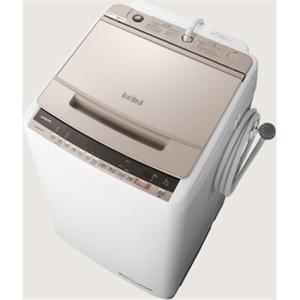日立 BW-V80E N 全自動洗濯機 (洗濯8.0kg) シャンパン