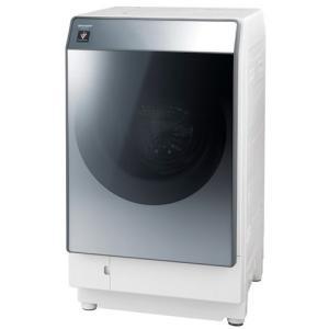 シャープ ES-W112-SR ドラム式洗濯乾燥機 (洗濯11.0kg/乾燥6.0kg・右開き) シルバー系|yamada-denki