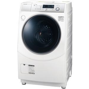 シャープ ES-H10D-WR ドラム式洗濯乾燥機 (洗濯10.0kg/乾燥6.0kg・右開き) ホワイト系|yamada-denki
