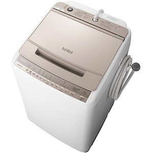 【無料長期保証】洗濯機 日立 8KG BW-V80F N 全自動洗濯機 ビートウォッシュ (洗濯・8kg) シャンパン|ヤマダデンキ PayPayモール店