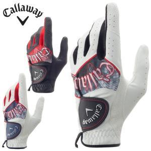 キャロウェイ  Callaway  ゴルフ 左手用グローブ  メンズ  グラフィックグローブ Graphic Glove 17 JM|yamada-denki