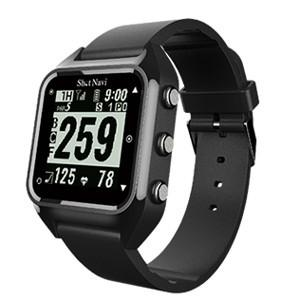ショットナビ GPSゴルフナビ ウォッチタイプ(ブラック) テクタイト ShotNavi 心拍・活動量計測機能搭載 HUG(B)|yamada-denki