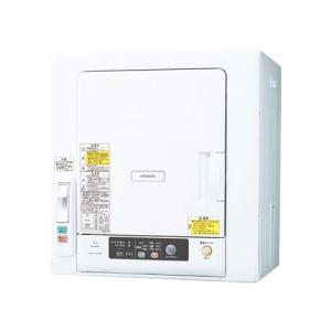 日立 DE-N60WV-W 衣類乾燥機 (乾燥6.0kg) ピュアホワイト|yamada-denki