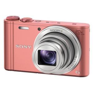 ソニー デジタルカメラ Cyber-shot(サイバーショット) DSC-WX350 P ピンク&l...