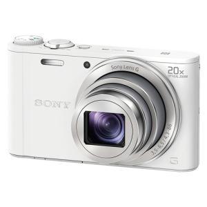 ソニー デジタルカメラ Cyber-shot(サイバーショット) DSC-WX350 W ホワイト&...