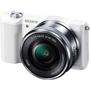 ソニー ILCE-5100L-W デジタル一眼カメラ α5100 パワーズームレンズキット (ホワイ...