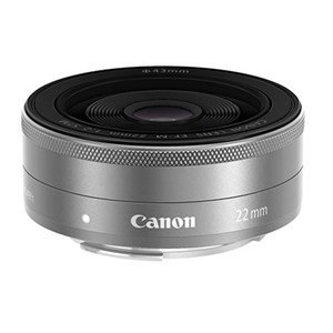 キャノン EF-M22STMSL 一眼レフカメラ/ミラーレスカメラ用交換レンズ EF-M22mm F...