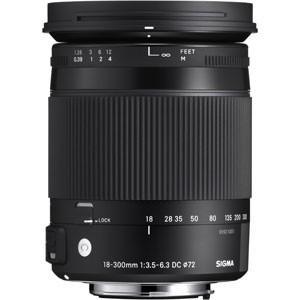 シグマ 交換用レンズ 18-300mm F3.5-6.3 DC MACRO OS HSM(キヤノン用...