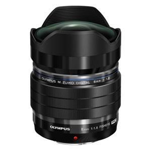 オリンパス 交換用レンズ M.ZUIKO DIGITAL ED 8mm F1.8 Fisheye P...