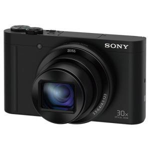 ソニー DSC-WX500-B デジタルカメラ Cyber-shot(サイバーショット) ブラック&...