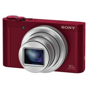 ソニー DSC-WX500-R デジタルカメラ Cyber-shot(サイバーショット) レッド&l...