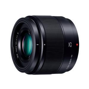 パナソニック H-H025-K 交換用レンズ LUMIX G 25mm/F1.7 ASPH.【マイク...