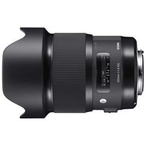 シグマ 交換用レンズ 20mm F1.4 DG HSM キヤノン用