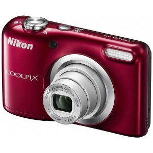 ニコン A10RD デジタルカメラ 「COOLPIX(クールピクス)」 A10 レッド|yamada-denki