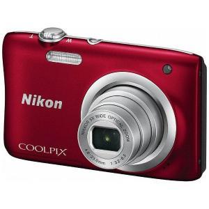 ニコン A100RD デジタルカメラ 「COOLPIX(クールピクス)」 A100 レッド|yamada-denki