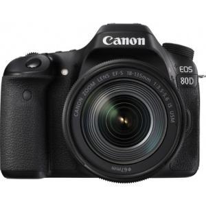キヤノン EOS80D18135ISUSMLK デジタル一眼カメラ 「EOS 80D」EF-S18-135 IS USMレンズキットK|yamada-denki