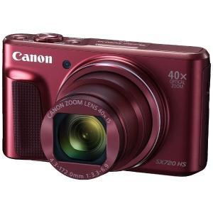 キヤノン PSSX720HS(RE) デジタルカメラ PowerShot(パワーショット) SX720 HS(レッド)|yamada-denki