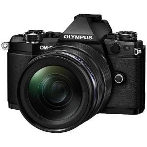 オリンパス ミラーレス一眼カメラ OM-D E-M5 Mark II 12-40mm F2.8 レンズキット ブラック|yamada-denki