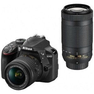 ニコン D3400-WZ-BK デジタル一眼レフカメラ「D3...