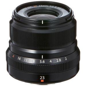 富士フイルム XF23MMF2RWRB 交換用レンズ XF23mm F2 R WR ブラック<...