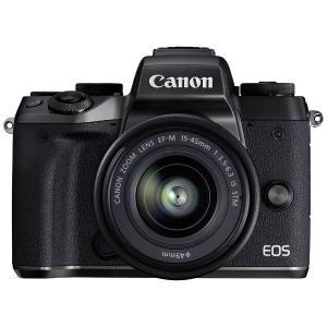 キヤノン EOSM5-1545ISSTMLK ミラーレス一眼カメラ EOS M5 EF-M15-45...