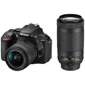 一眼レフ ニコン Nikon D5600-W70300KIT デジタル一眼レフカメラ D5600 ダ...