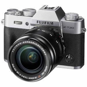 富士フイルム FX-T20LK-S ミラーレス一眼カメラ「FUJIFILM X-T20」 レンズキッ...