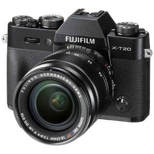 富士フイルム FX-T20LK-B ミラーレス一眼カメラ「FUJIFILM X-T20」 レンズキッ...