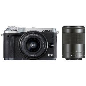 キヤノン EOSM6-WZKSL ミラーレス一眼カメラ 「E...