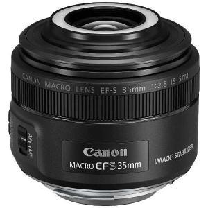 キヤノン EF-S3528MISSTM 交換用レンズ EF-S35mm F2.8 マクロ IS STM|yamada-denki