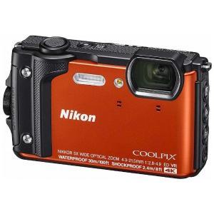 ニコン W300OR デジタルカメラ COOLPIX(クールピクス) W300(オレンジ)|yamada-denki