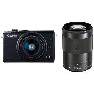 キヤノン EOSM100BK-WZK ミラーレス一眼カメラ 「EOS M100」 ダブルズームキット...