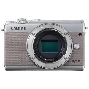 キヤノン EOSM100GY-BODY ミラーレス一眼カメラ 「EOS M100」 ボディ グレー&...
