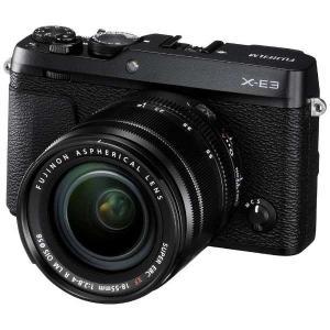 富士フイルム FX-E3LKB デジタルミラーレス一眼カメラ 「X-E3」 ズームレンズキット ブラック|yamada-denki