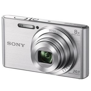 ソニー コンパクトデジタルカメラ 「Cyber-shot」 シルバー DSC-W830<br&...