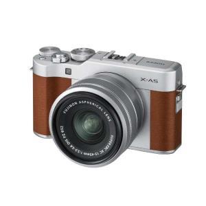 富士フイルム XA5LKITBW ミラーレス一眼カメラ FUJIFILM X-A5 レンズキット ブ...