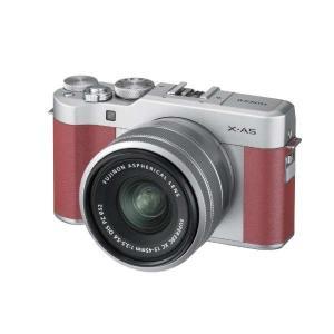 富士フイルム XA5LKITP ミラーレス一眼カメラ FUJIFILM X-A5 レンズキット ピン...