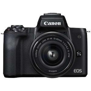 キヤノン EOSKISSM-L1545KBK ミラーレス一眼カメラ 「EOS Kiss M」 EF-...