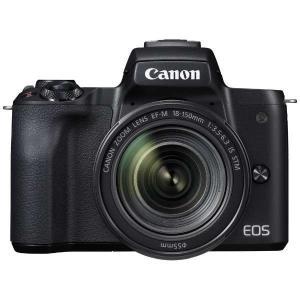 キヤノン EOSKISSM-L18150KBK ミラーレス一眼カメラ 「EOS Kiss M」 EF...