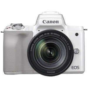 キヤノン EOSKISSM-L18150KWH ミラーレス一眼カメラ 「EOS Kiss M」 EF...