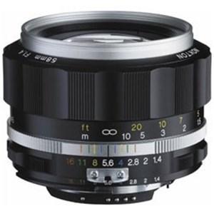 コシナ 交換レンズ NOKTON 58mm F1.4 SL IIS(シルバーリム)(CPU付きニコン...