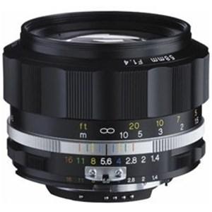 コシナ 交換レンズ NOKTON 58mm F1.4 SL IIS(ブラックリム)(CPU付きニコン...
